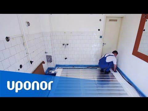 Uponor Siccus underfloor heating