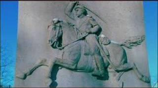 Gettysburg Monuments 027 - 6th Ohio Cavalry Civil War