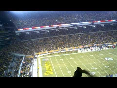Pittsburgh Steelers vs. Baltimore Ravens: Renegade song in HD 1/15/11