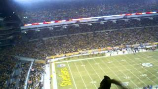Pittsburgh Steelers vs. Baltimore Ravens: Renegade song in HD 1/15/11