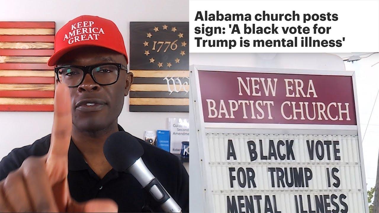 ABL Alabama CHURCH Says Black Trump Vote is MENTAL ILLNESS!