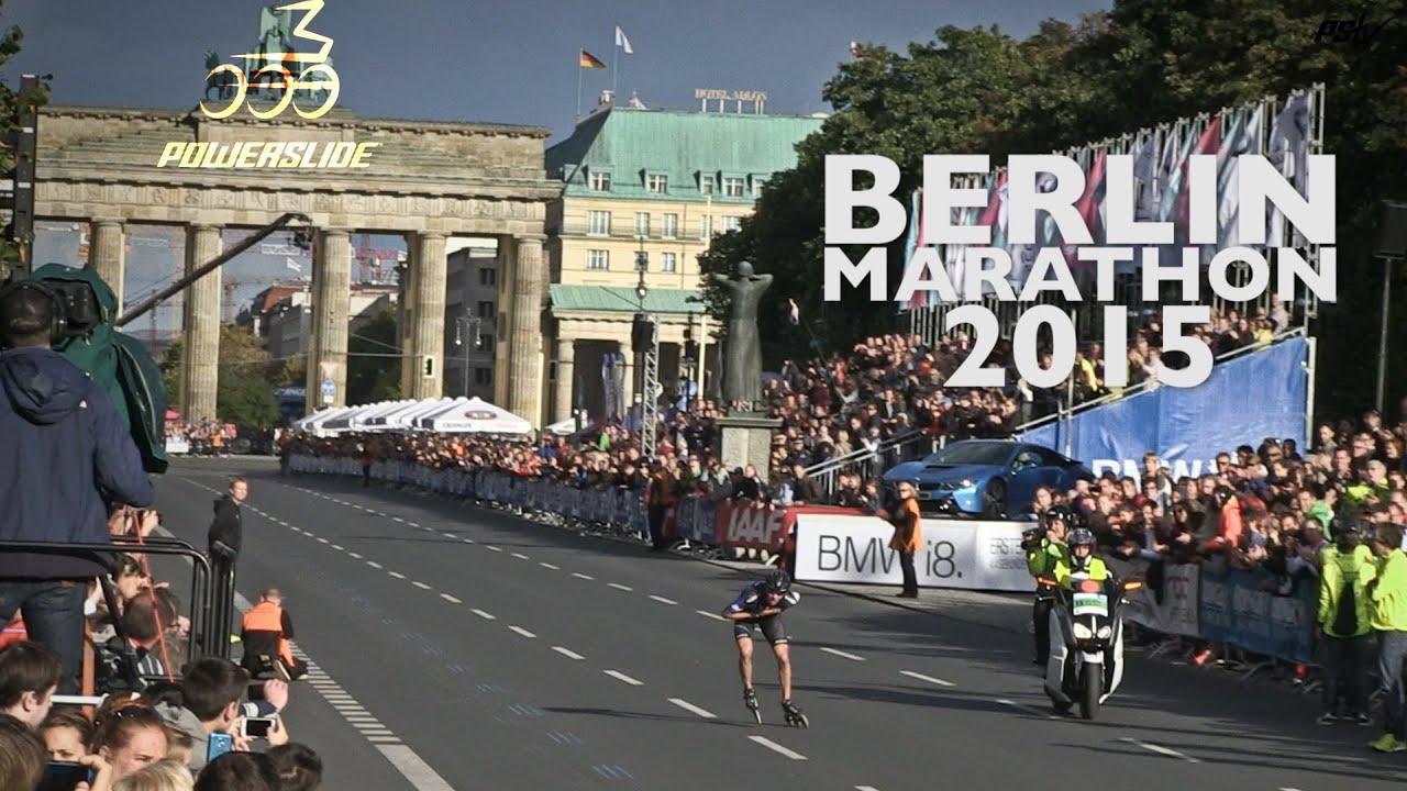 berlin marathon 2015 powerslide triskating to victory youtube. Black Bedroom Furniture Sets. Home Design Ideas