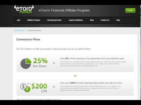 eToro Forex Affiliate Review