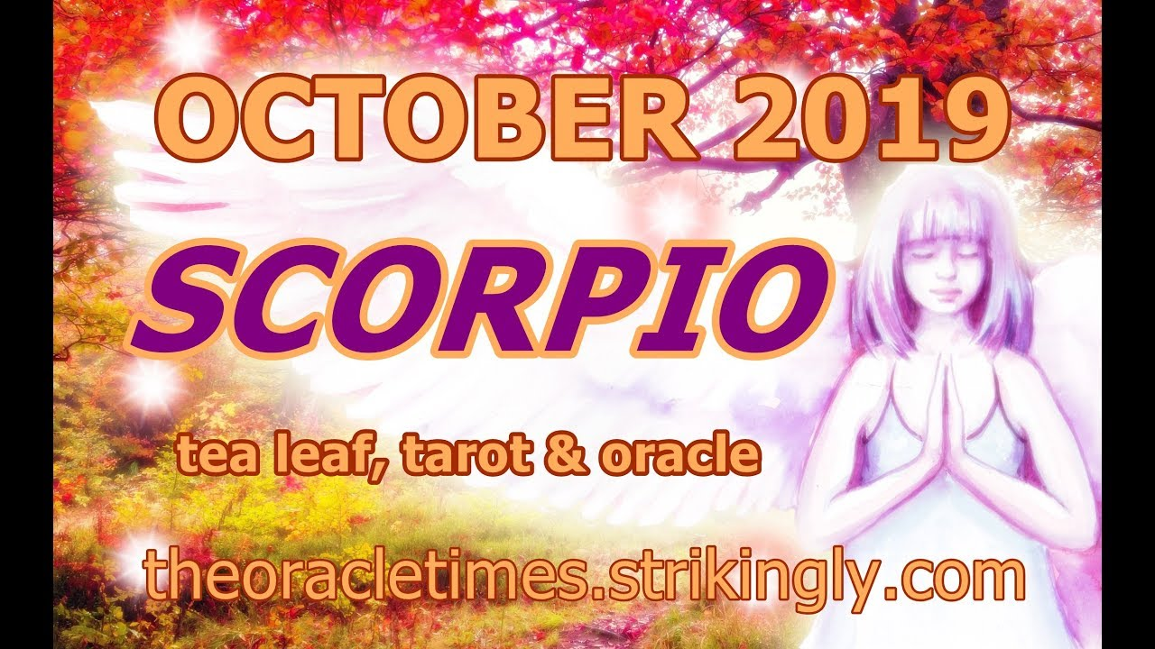 SCORPIO ♏ OCTOBER 2019 A NEW BELIEF CHANGES EVERYTHING!! REALLY!!!