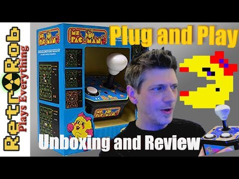 MSI WINFUN Ms Pacman Plug And Play Unboxing And Review