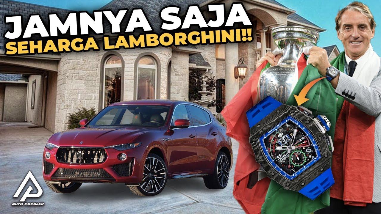 Membawa Italia Juara!! Begini Koleksi Mobil Mewah dan Kekayaan  yang Dimiliki Roberto Mancini
