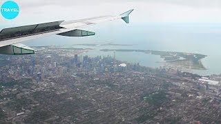 Video Air Canada A320 Beautifully Scenic Landing at Toronto Pearson Airport! download MP3, 3GP, MP4, WEBM, AVI, FLV Juli 2018