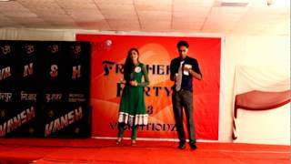 Kitabe Bahut Si - Ankur and Mamta at FMG on Fresher