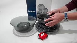 Сервиз столовый 20_пр Luminarc Directoire Graphite - обзор