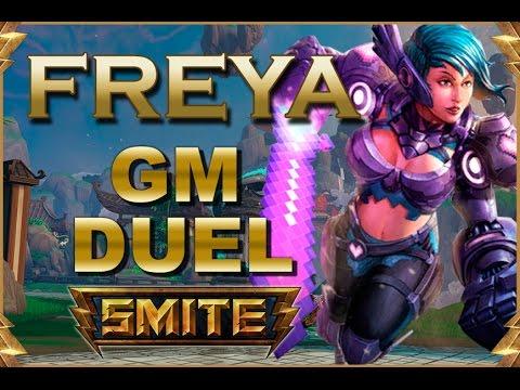 SMITE! Freya, El late tiene que ser nuestro!! GM Duel #13