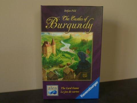 Carte Des Chateaux En Bourgogne.Les Chateaux De Bourgogne Le Jeu De Cartes