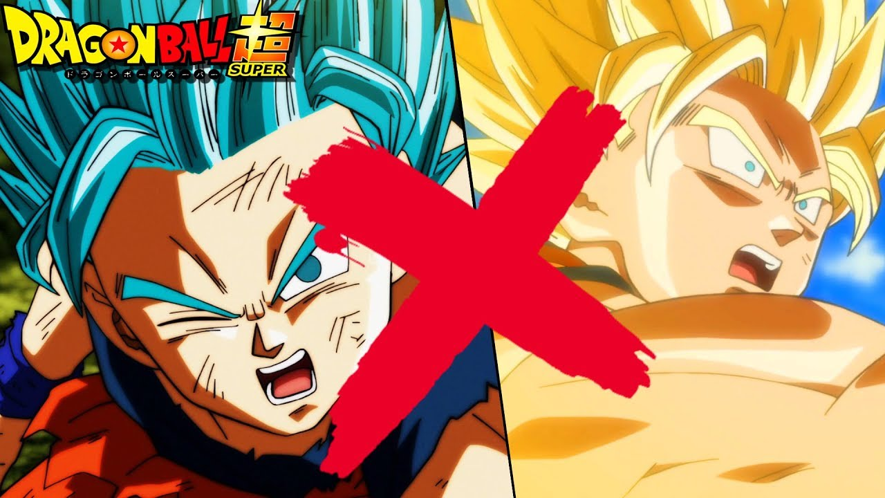 there is no super saiyan blue 2 in dragon ball super youtube