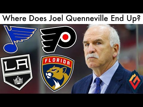 Which NHL Team Will Hire Joel Quenneville?