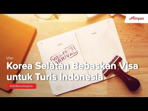 Kabar Gembira! Korea Selatan Bebaskan Visa untuk Turis Indonesia di Februari 2018!