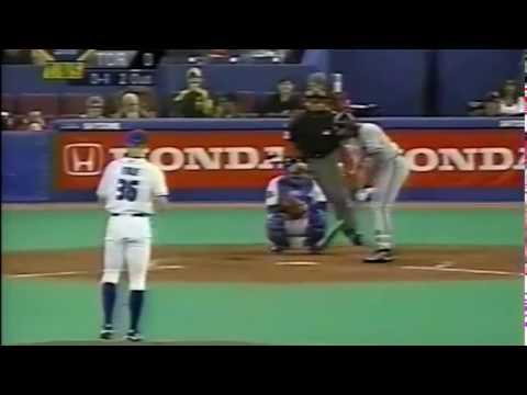 Bob File 2001 Blue Jays - Atlanta Braves (Rafael Furcal, Andrew Jones)