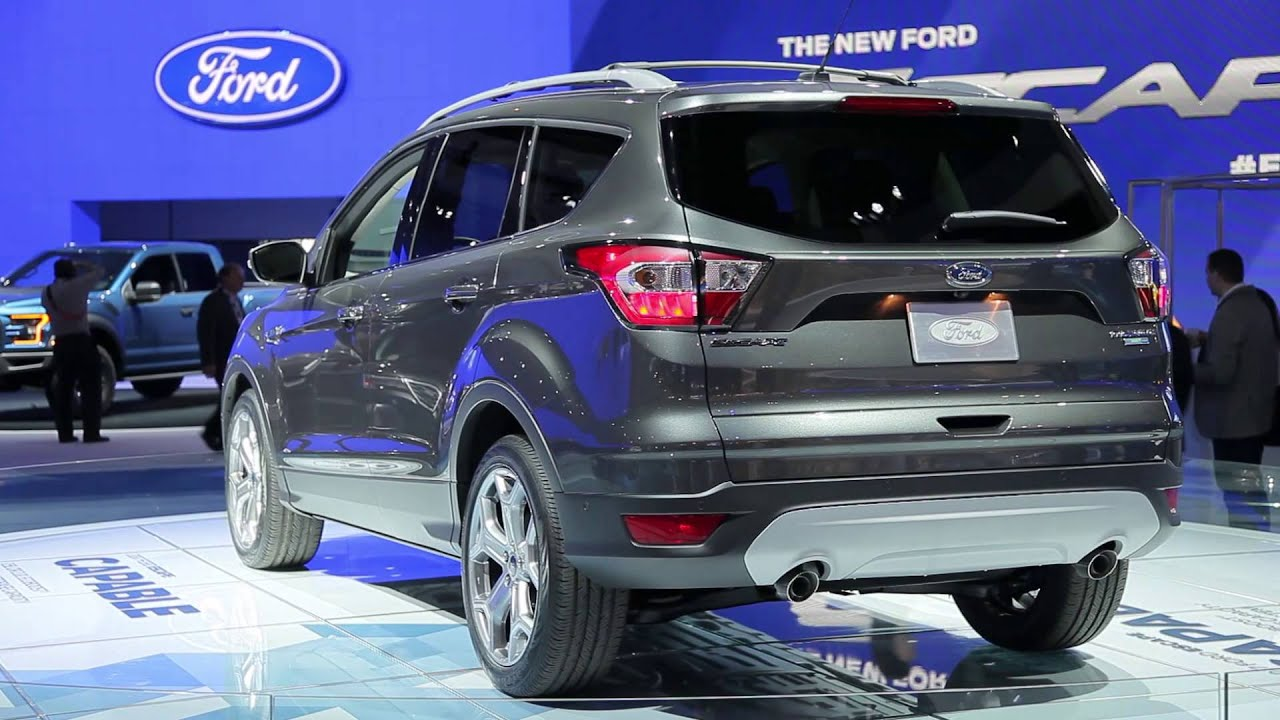 2017 Ford Escape Video Preview Youtube