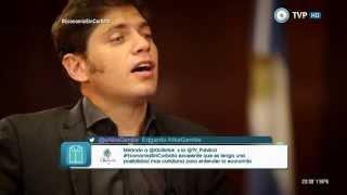 Economía sin corbata - Entrevista a Axel Kicillof (1 de 2) 20-04-15