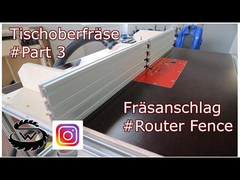 Fräsanschlag // Router Fence #Part 3