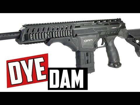Dye DAM Paintball Gun - 4K