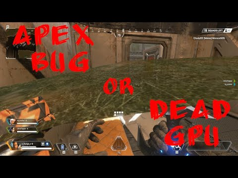 Apex Legends - Texture flickering and artifact-like bugs on RTX 2080