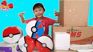 100만 구독자 기념 선물개봉기! | 포켓몬스터 서프라이즈 박스 오픈  surprise box opening