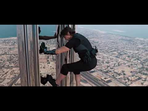 [영화속 명장면] 미션임파서블 : 고스트 프로토콜 - 두바이 빌딩 명장면