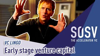 VC Lingo: What is early stage venture capital?