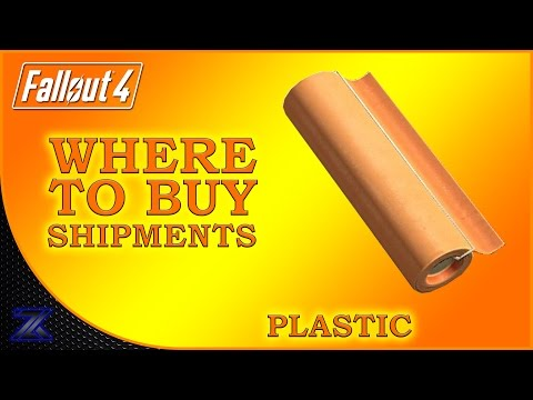 Fallout 4 - How to Find Shipments of Plastic Guide | Complete Material Guide