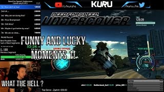 Funny And Lucky Moments - NFS Undercover - Ep. 1