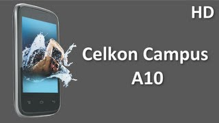 Celkon Campus A10  Price Specification Review with 1.3 MP Camera, 1.2Ghz Dual Core Processor