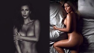 Kim Kardashian Pledges to Take Naked Selfies Till She Dies