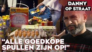 Voedselbank in de problemen door HAMSTERGEDRAG en corona | DANNY OP STRAAT #7
