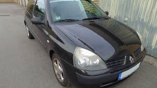 Renault Clio II - 1,2 16V - Baujahr 2005 - Innenraumfilter / Pollenfilter wechseln