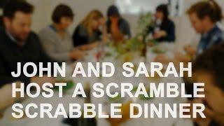 John and Sarah Host a Scramble Scrabble Dinner | The Art Assignment | PBS Digital Studios