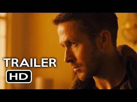 BLADE RUNNER 2049 Official Teaser Trailer  2017  Ryan Gosling  Harrison Ford Sci-Fi Movie HD Poster