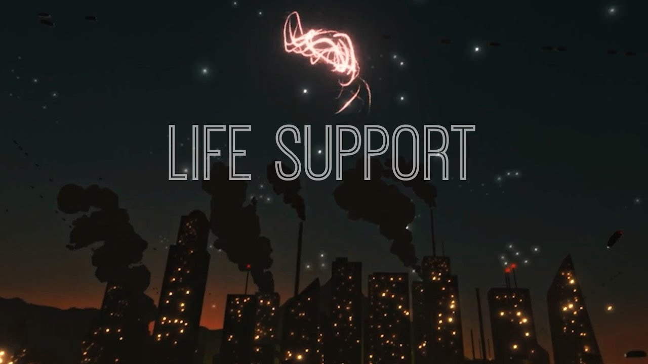 Life Support - Official Music Video with Lyrics (Song Composed with AI)
