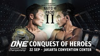 🔴 [Livestream] ONE Championship: CONQUEST OF HEROES