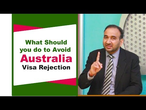 What Should You Do To Avoid Australia Visa Rejection