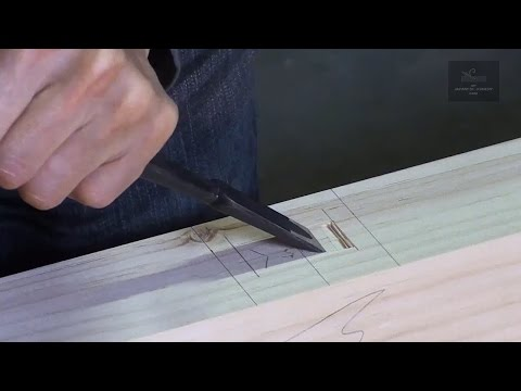 Learn how to Make a Exact Mortise with Clear Edges