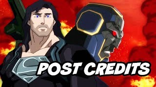 Reign Of The Supermen Ending - Justice League Post Credit Scene Breakdown