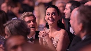 Katy Perry Calls Out Boyfriend Orlando Bloom for Looking Like Jennifer Aniston