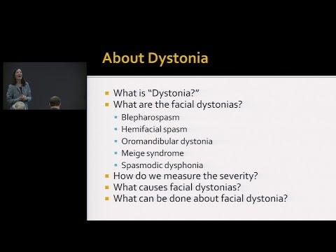 Oral facial dystonia