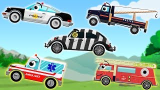 Helping Hand | Police Car | Police Tow Truck | Ambulance | Fire Truck