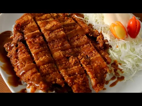 Korean style pork cutlet (Donkkaseu: 霃堦箤鞀�)