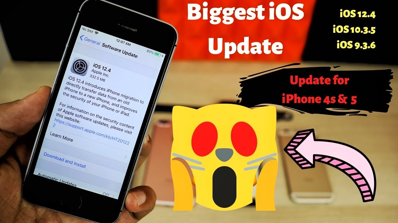iOS 12 4 What's new? Biggest update | iOS 10 3 5, iOS 9 3 6, FaceTime for  Pakistan