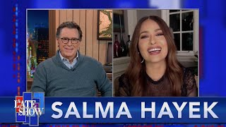 Salma Hayek Adopted An Owl After Seeing It In Her Dreams