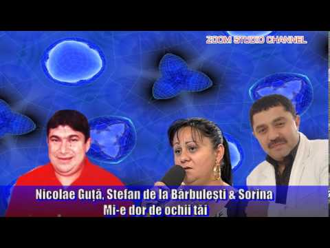 NICOLAE GUTA, STEFAN DE LA BARBULESTI & SORINA - MI-E DOR DE OCHII TAI, ZOOM STUDIO