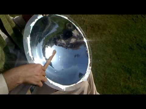 Solar Parabolic Mirror 18 Quot Acrylic Majestic Pakistan