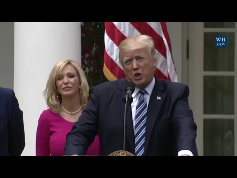 CHURCH AND STATE UNION!!!!! President Trump Signs the Executive Order on Religious Liberty