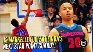 Is markelle fultz ready to be the nba's next star guard?! senior yr. highlights